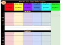 Must Do Planning (Template available to VIP members)